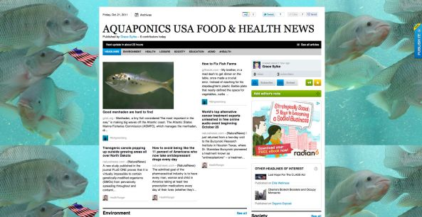There's nothing like the AQUAPONICS USA FOOD & HEALTH NEWS