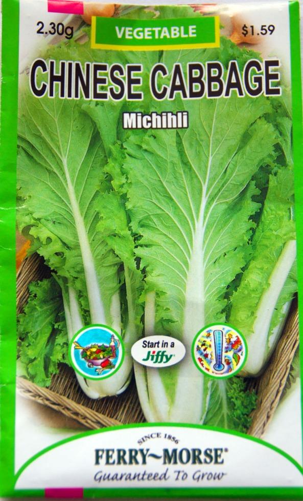 Chinese Cabbage, Michihli